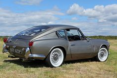 Triumph GT6 -- sweet! Used to have one, regret ever selling it.