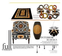 """""""Interior by Design"""" by emcf3548 ❤ liked on Polyvore featuring interior, interiors, interior design, home, home decor, interior decorating, NOVICA and Marset"""