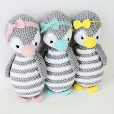 Knitting Patterns Toys Amigurumi crochet pattern Pinguin Pitschu as a music box Baby Knitting Patterns, Amigurumi Patterns, Crochet Patterns, Doll Patterns, Crochet Birds, Crochet Animals, Crochet Dolls, Crochet Penguin, Crochet Instructions