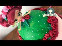 (316) Shopkins doll cake Rosie Bloom buttercream cakes - YouTube