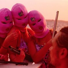 Pink Unicorn Ski Masks
