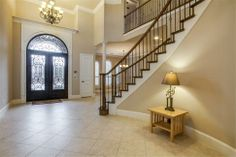 Love those entry doors!  - 4738 Glen Heather Drive, Frisco, TX 75034 - Frisco Home for Sale - Christie Cannon