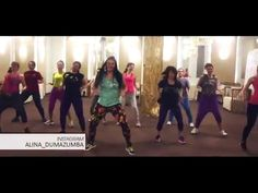 ALINA DUMA: MU JO by SKALES(african style choreography, Zumba® fitness) - YouTube