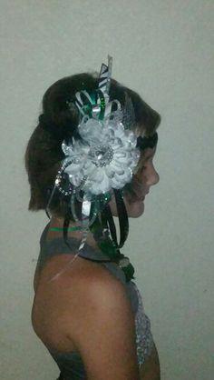 Headband homecoming mum. Leisa's House of Flowers  by: Leisa Black Hergert Facebook