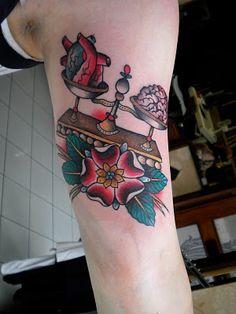 Scales tattoo