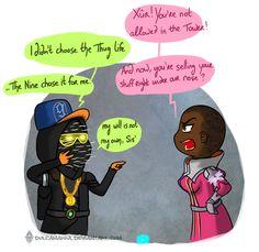 Thug life Xur by Dulcamarra on DeviantArt