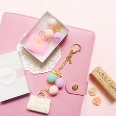 Pretty? Yes!  Planner charms available tomorrow in limited pieces.