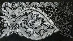 The Textile Blog: Honiton Lace