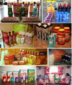 How to Stockpile on Ten Bucks Per Week - Each pic represents a purchase of ten dollars or less! #stockpile #stockpiling