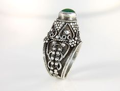 Vintage Middle Eastern silver 950 Ring bedouin mens by RMSjewels, $185.00