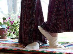 Organic hemp slippers women ladies house shoes unisex