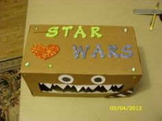 Chewbacca Star Wars Valentine Box View 2