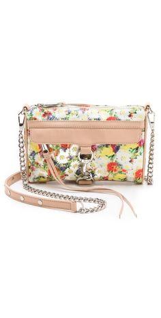 Rebecca Minkoff Floral Mini MAC Bag | SHOPBOP