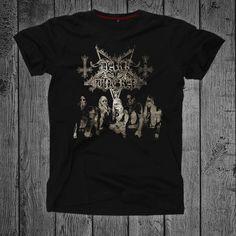 Dark funeral t-shirt Black metal Norwegian black metal Black Metal, Funeral, Dark, Mens Tops, T Shirt, Handmade, Stuff To Buy, Etsy, Awesome