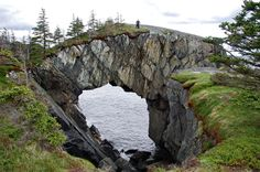 Hike on the Spurwink Island Path, East Coast Trail, Newfoundland Berry Head sea arch on the East Coast Trail in NewfoundlandBerry Head sea arch on the East Coast Trail in Newfoundland East Coast Travel, East Coast Road Trip, Newfoundland Canada, Newfoundland And Labrador, Fun Facts About Canada, Quebec, Visit Canada, Canada Canada, Canada Trip