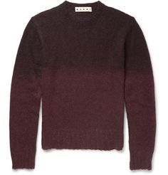 Marni - Degradé Mohair-Blend Sweater