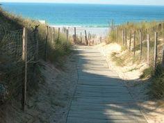 Beach in southeast France