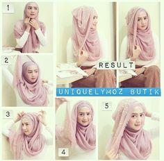 #pashmina #hijab #tutorial #stepbystep