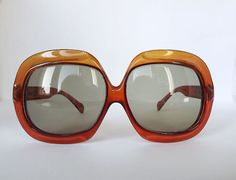 1970s Christian Dior oversize sunglasses .. to ware on the no makeup day