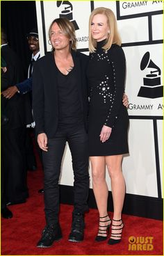 Nicole Kidman & Keith Urban Are Too Cute Together at Grammys 2015