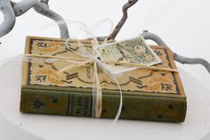 Shabby old book