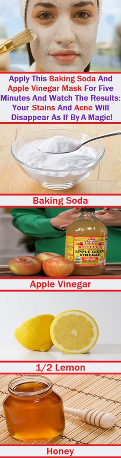 Acne Eliminate Your Acne - ACV baking soda facial mask Free Presentation Reveals 1 Unusual Tip to Eliminate Your Acne Forever and Gain Beautiful Clear Skin In Days - Guaranteed! Beauty Care, Beauty Skin, Beauty Hacks, Diy Beauty, Beauty Secrets, Homemade Beauty, Beauty Ideas, Beauty Makeup, Honey For Acne Scars