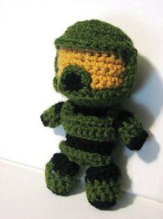Master Chief Crochet- no pattern