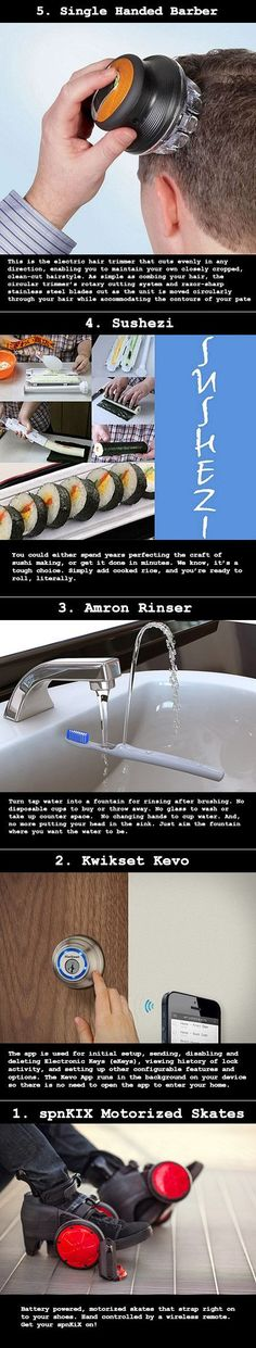 We have rounded up some cool inventions designed to make your life easier.: