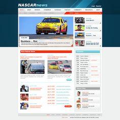 Car Portal Joomla Template by Html5 Web Templates, via Behance