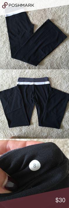 Lululemon Groove Pants Size 8-has a pocket for keys/card lululemon athletica Pants