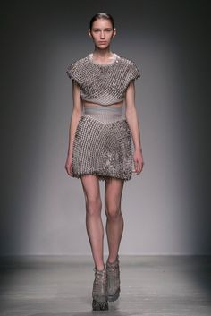 Iris van Herpen Fall 2015  (Photo: Nowfashion)