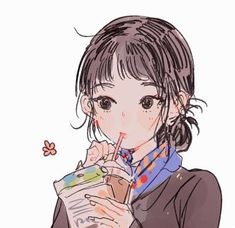 Anime Art Girl, Manga Art, Manga Anime, Pretty Art, Cute Art, Character Art, Character Design, Cute Anime Profile Pictures, Dibujos Cute