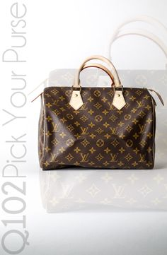 Louis Vuitton - Speedy 30 Monogram.  Go to wkrq.com to find out how to play Q102's Pick Your Purse!
