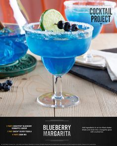 Eye-catching and delicious, the blueberry margarita is a colorful twist on the classic favorite. Goes perfectly with your favorite spicy meals and appetizers! For the full recipe, visit TheCocktailProject.com. DRINK RESPONSIBLY © 2016 Beam Suntory Inc., 510 Lake Cook Road, Deerfield, IL 60015. All Rights Reserved. All trademarks are property of their respective owners. Please drink responsibly.