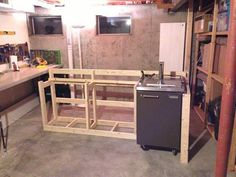 back to the trees: basement bar
