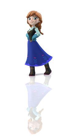 Anna. #DisneyInfinity