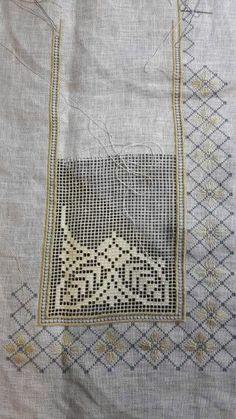 Bordado/ Filstire/ Maria L. Hardanger Embroidery, Hand Embroidery Stitches, White Embroidery, Hand Embroidery Designs, Cross Stitch Embroidery, Embroidery Patterns, Crochet Patterns, Filet Crochet, Crochet Lace