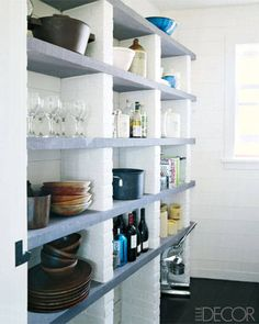 Stylish Storage - butlers pantry