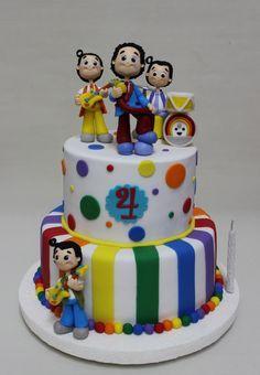 Topa y los rulos Cake Junior Express, Disney Junior, Holidays And Events, Birthdays, Frozen, Barbie, Birthday Cake, Candy, Amelia