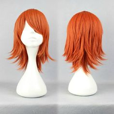 Wig Detail One Piece Nami Wig Includes: Wig, Hair Net Length - 35CM Important Information: Fitting - Maximum circumference of 55-60CM Material - Heat Resistant Fiber Style - Comes pre-style as shown i