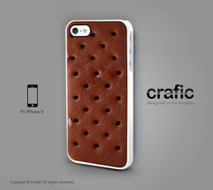 iPhone 5 Case  Ice Cream Sandwich iPhone 5 Case by CRAFIC on Etsy, $19.50 if i had an iphone. i would want this