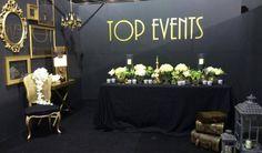 Stand de Top Events Tarragona en la feria de bodas Tot Nuvis 2014 en firaReus