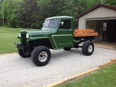 Vintage Trucks Classic 1959 Willys Truck - Photo submitted by Tommy Jones. Vintage Jeep, Vintage Pickup Trucks, Classic Chevy Trucks, New Trucks, Cool Trucks, Vintage Cars, Classic Cars, Vintage Diy, Vintage Ideas
