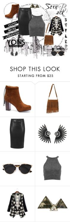 """""""Untitled #29"""" by azraa-tursunovic ❤ liked on Polyvore featuring Christian Dior, Worlds Away, women's clothing, women, female, woman, misses, juniors and yoins"""