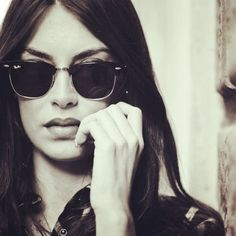 reflective Ray-Ban sunglasses, winter style | THE AUGUST DIARIES