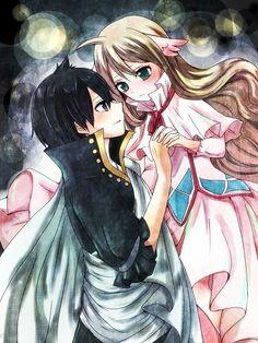 Fairy Tail - Zeref and Mavis