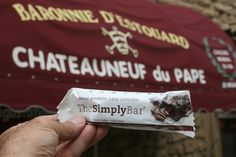 Cocoa Coffee outside the Chateauneuf de Pape