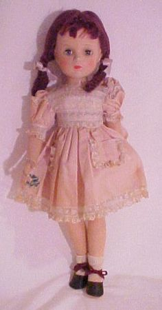 "1946 Madame Alexander Margaret O'Brien Doll 21"" valued @ $1,300"