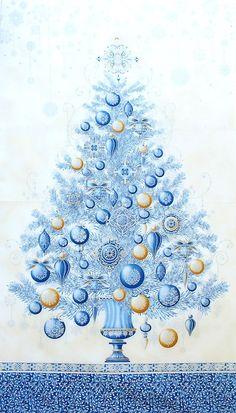 Kaufman Fabrics 'Winter's Grandeur' Silberdruck Bildgröße 60 cm x 110 cm we-635-01-7001 https://planet-patchwork.de/de/article/kp/27621/4/