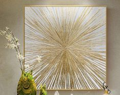 Original Handmade Oil PaintingModern ArtArt Decor by ArtWindStudio Texture Painting On Canvas, Oil Painting Abstract, Abstract Wall Art, Acrylic Painting Canvas, Feather Painting, Feather Print, Canvas Art, Gold Leaf Art, Gold Wall Art